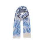 Luxusní šátek Heart Blue