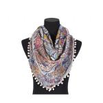 Luxusní šátek Pom Pom