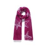 Luxusní šátek Star Red