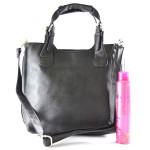 Menší černá kabelka do ruky Tarra