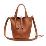 Mini Celine Genuine Leather – hnědá