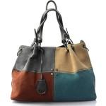 Moderní čtyřbarevná kabelka s šedou Rimini two
