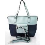 moderní italská kabelka s modrou ally