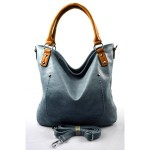 moderní modrá shopper taška charlie two