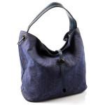 Moderní modrá stylová kabelka Claire