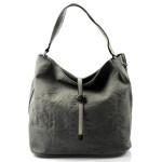 Moderní šedá stylová kabelka Claire