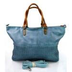 Moderní velká modrá kabelka marisa