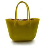 Moderní žlutá kabelka Bagi