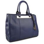 Modrá kabelka do ruky Bluer