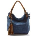 modrá kabelka na rameno levis