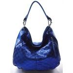modrá moderní kabelka na rameno Abril