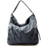 netradiční modrá kabelka Mona