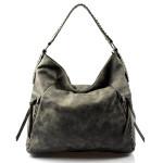 netradiční zeleno-šedá kabelka Mona