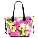 Růžová barevná kabelka na rameno Dixi
