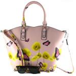 Ružová kabelka do ruky Alima