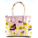Růžová kabelka do ruky Lovely