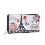 Stylová peněženka Paris Vintage