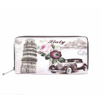Stylová peněženka Vintage Pisa & Car