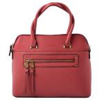 sytě červená bordó kabelka do ruky Sabina