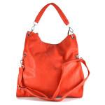 Sytě červená kabelka Ela