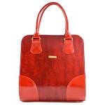 Sytě červená kabelka Moline