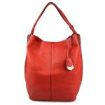 Sytě červená kabelka Tilassi