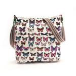 Taška Butterfly Dream – bílá