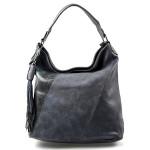 tmavě modrá designová kabelka Mix
