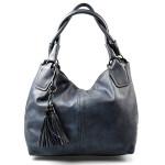 tmavší modrá moderní kabelka Damien