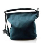 tyrkysová designová filcová kabelka Juliet
