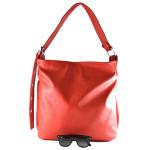 Velká červená kabelka na rameno Tania / Velké kabelky