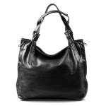 Velká moderní černá shopper taška Electra