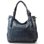 Velká moderní modrá shopper taška Electra