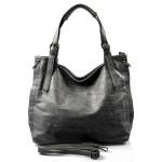Velká moderní šedá shopper taška Electra