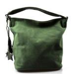 zelená designová filcová kabelka Juliet
